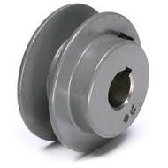 Fixed sehave single groove pulley