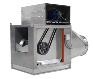KB18-Inline CaptiveAire Exhaust Fan - All Around Industry Supply