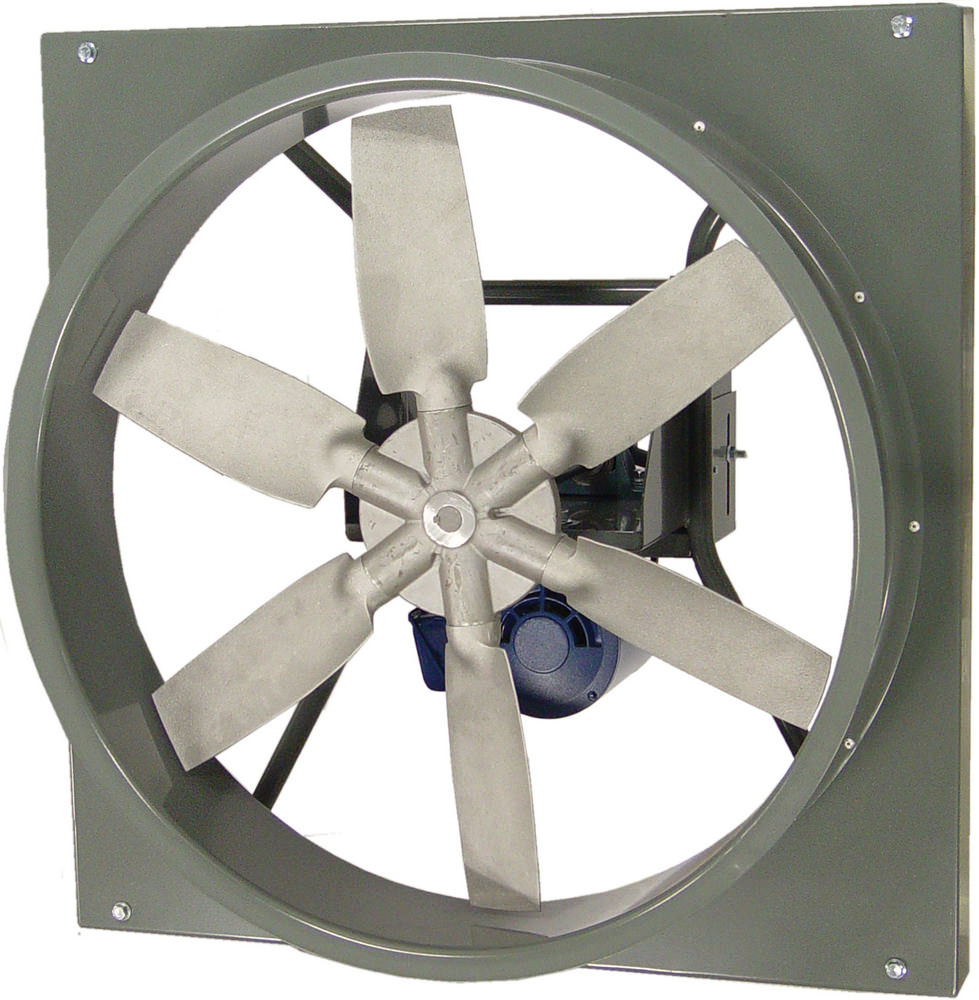 Replacement Fan Blades And Propellers : Awb wall fan cast aluminum propeller belt drive all