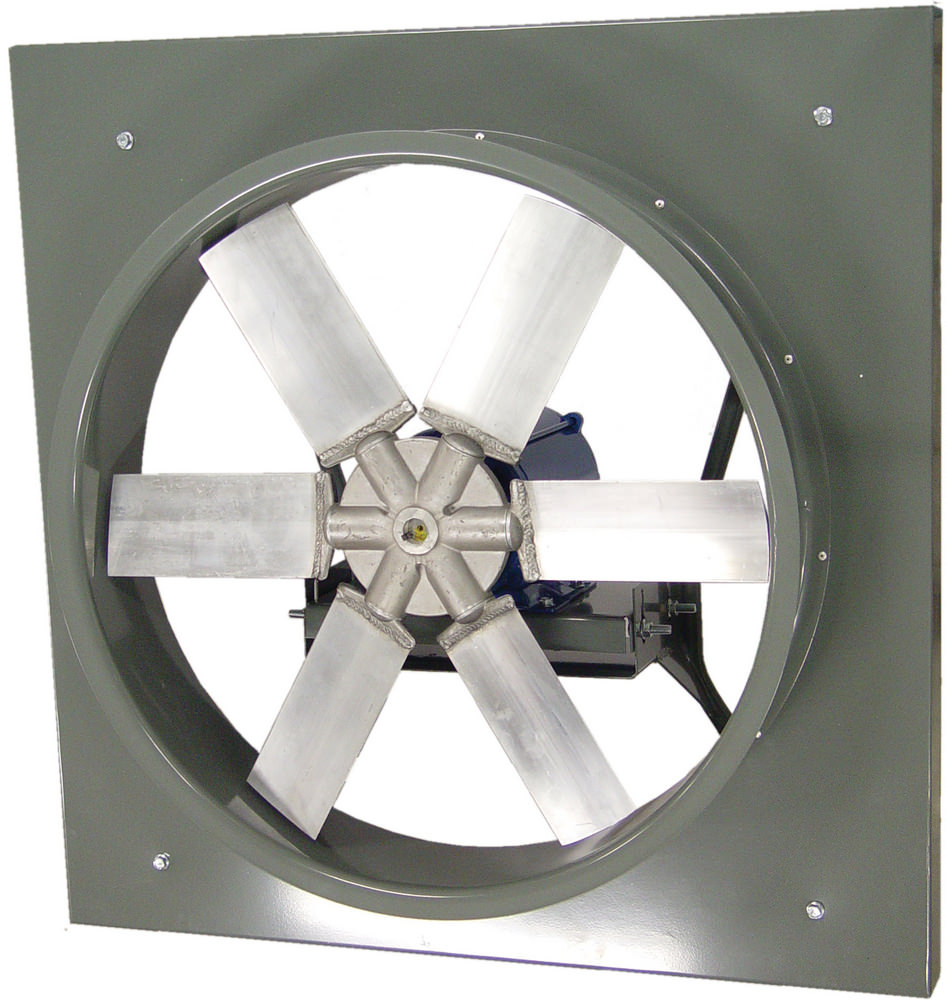 48 Direct Drive Exhaust Fans : Ewd wall fan extruded aluminum propeller direct drive