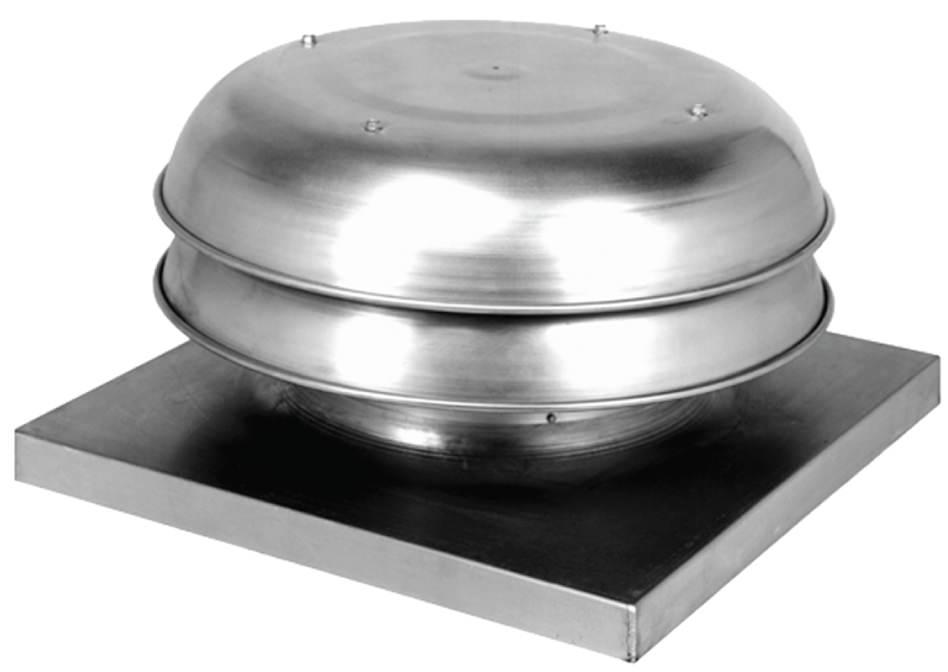 Tr24 Spun Aluminum Tiered Gravity Vent All Around