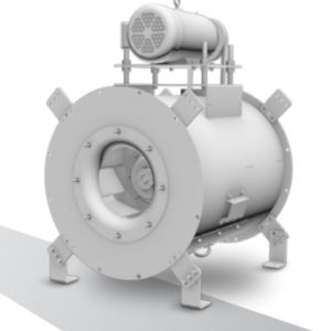 TCI - Tubular Centrifugal Inline Fan