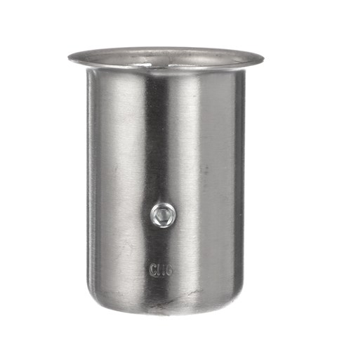 """1-5/8"""" x 3-1/4"""" H Type 304 Stainless Steel Leg Socket With Flanged Top"""