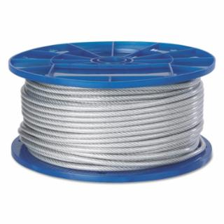 """005-4500705 Aircraft Quality Wire Ropes, 7 rands, 19 rands/Wire, 5/16"""", 1,400 lb Load"""