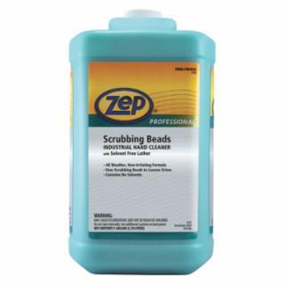019-R04960 Scrubbing Bds Indurial Hand Clner, Solvent Free, Lemon, Bottle, 1 gal