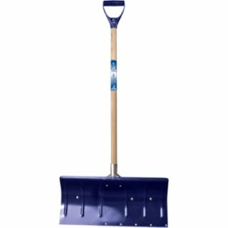 027-1640000 Arctic Bla Snow Pusher, 11 in X 24 in Blade, Wood Poly D-Grip Handle