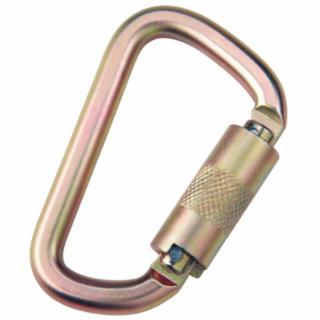 098-2000112 Saflok rabiners, 11/16 in, Self-locking/Closing-Gate Connector