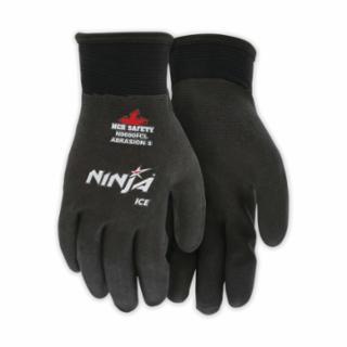 127-N9690FCL Ninja Ice Gloves, Large, Black, 1.083 in, 1.083 in, Fully Coated