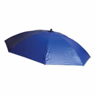 160-UM7VB Hvy Duty Umbrella, 6 1/2 ft H, Blue, Vinyl
