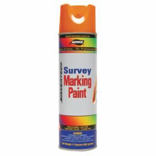205-222 Survey Marking Paint, 17 oz Aerosol n, Fluorescent Orange