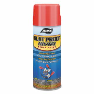 205-303 Any-Way RuProof Enamels, 12 oz Aerosol n, Safety Blue, High-Gloss