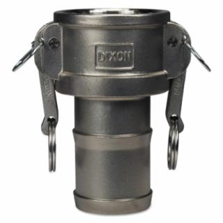 238-G250-C-SS Global Type C Couplers, 2 1/2 in (NPT), 325 ainless eel