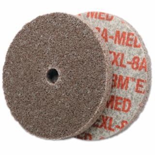 405-048011-13764 Scotch-Brite EXL Unitized Deburring Wheel, 8A, 3X1/4X1/4, Medium, Aluminum Oxide