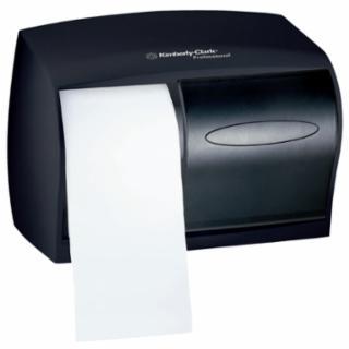 412-09604 In-Sight Double Roll Coreless Dispensers, Plaic, Smoke