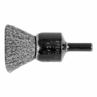 """419-82986 andard Duty Crimped End Brushes, ainless eel, 20,000 rpm, 3/4"""" x 0.006"""