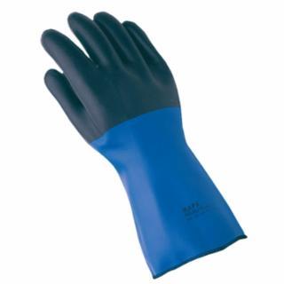 457-332428 Temp-Tec NL-56 Gloves, Blue/Black, Size 8