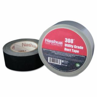 573-1087777 308 Utility Grade Duct Tapes, Black, 48 mm x 55 m x 8 mil