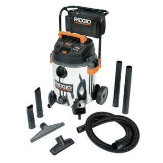 632-22708 ProVac Series Wet/Dry Vacuums, 16 gal, 6 1/2 hp, With (7) Accessories