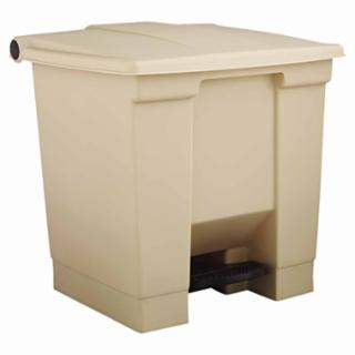 640-6143-WHT ep-On Containers, 8 gal, Plaic, White