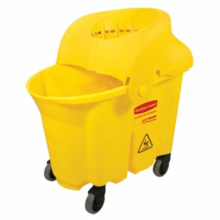 640-7590-88-Y Brute Initutional Mop Bucket & Wringer, 35 qt, Yellow