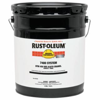 647-2764402 High Performance 7400 Syem DTM Alkyd Enamels, 1 Gallon n, Flat White